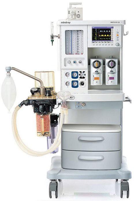 Дыхательно-наркозный аппарат Mindray WATO EX-35 | Анестезиология | Наркозно-дыхательные аппараты