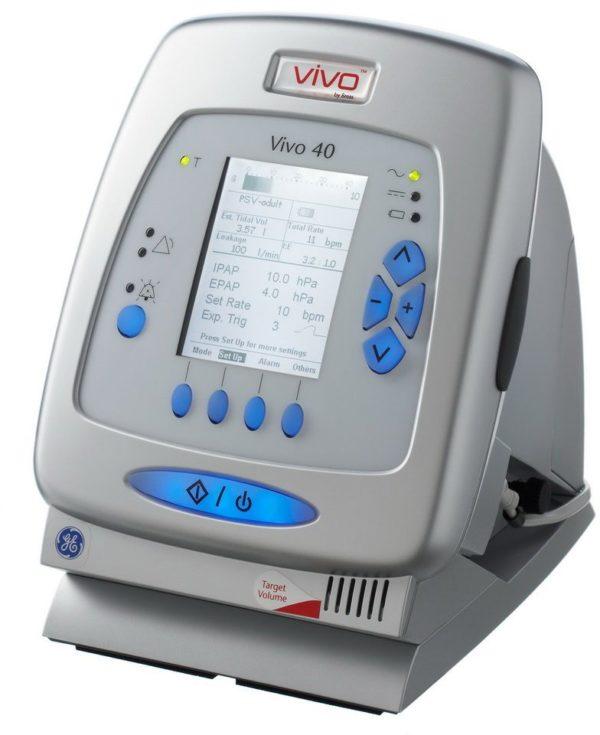 Аппарат для неинвазивной вентиляции лёгких VIVO 40 | Анестезиология | Дыхательные аппараты