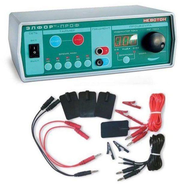Аппарат для гальванизации и электрофореза ЭЛФОР-проф | Физиотерапия | Электрические токи