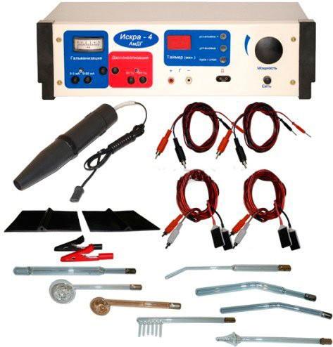 Аппарат АмДГ Искра-4 | Физиотерапия | Электрические токи