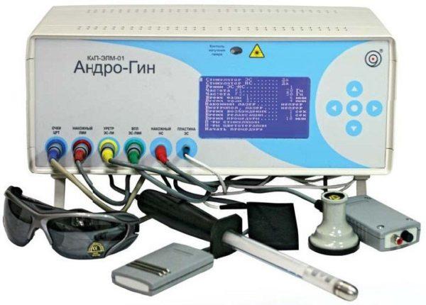 Комплекс электро-магнитолазерной терапии КАП-ЭЛМ-01 «Андро-Гин» | Физиотерапия | Многофункциональное физиотерапевтическое оборудование