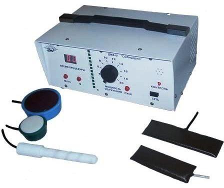 Аппарат для ДМВ-терапии ДМВ-01 Солнышко | Физиотерапия | ДМВ-терапия