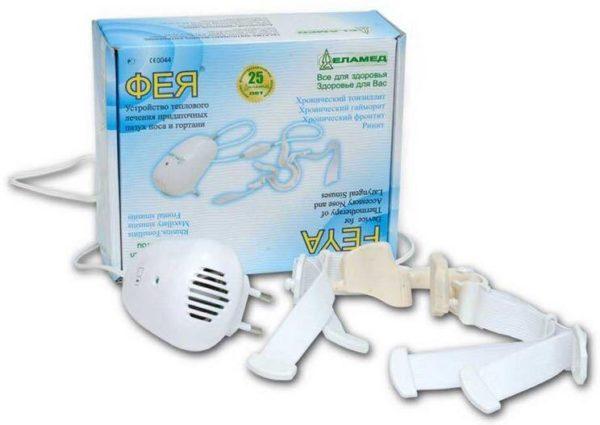 Устройство теплового лечения придаточных пазух носа и гортани ФЕЯ (УТЛ-01) | Физиотерапия | Аппараты для домашнего применения