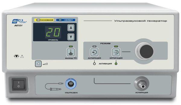 Аппарат кавитационный ультразвуковой хирургический АУЗХ 100-«Фотек» | Гинекология | Аппараты для гинекологии