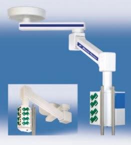 HUMERUS 500 Подвесная система с вертикальной регулировкой | Светильники медицинские | Консоли подвесные потолочные
