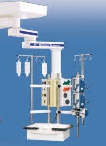MAXIMUS 1000 Подвесная система с возможностью горизонтального перемещения для повышенных нагрузок | Светильники медицинские | Консоли подвесные потолочные