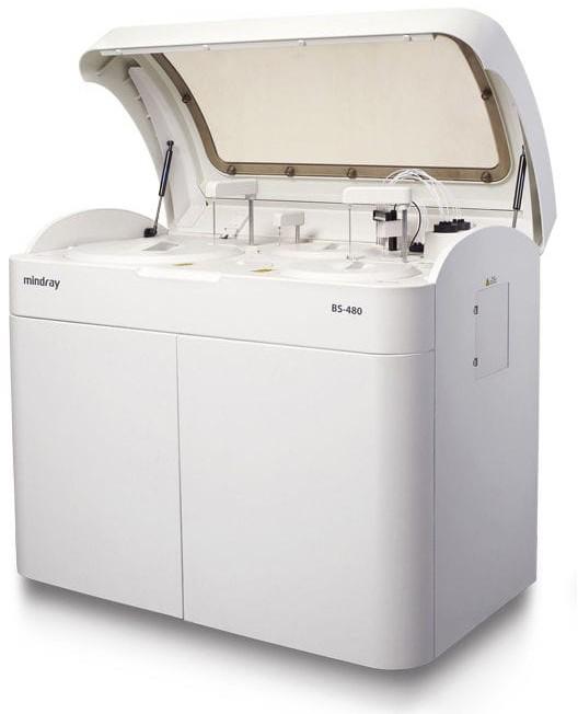 Mindray BS-480 Анализатор биохимический автоматический | Лабораторное оборудование | Анализаторы | Биохимические анализаторы | Анализаторы биохимические полуавтоматические