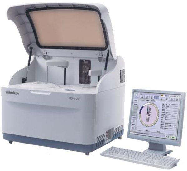 Mindray BS-120 Анализатор биохимический автоматический | Лабораторное оборудование | Анализаторы | Биохимические анализаторы | Анализаторы биохимические автоматические