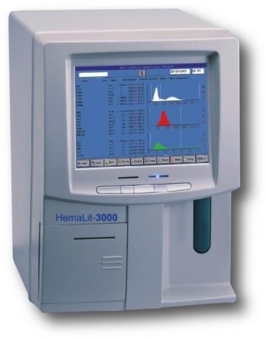 Гематологический анализатор HEMALIT–3000 | Лабораторное оборудование | Анализаторы | Анализаторы гематологические | Анализаторы гематологические автоматические
