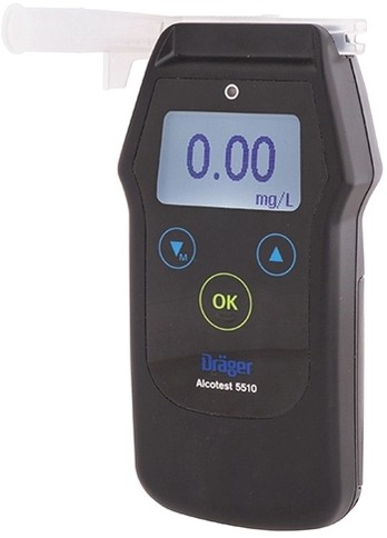 Алкотестер Alcotest 5510 Draeger | Лабораторное оборудование | Анализаторы | Анализаторы алкоголя (алкотестеры)