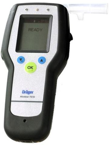 Алкотестер Alcotest 7510 с поверкой Draeger | Лабораторное оборудование | Анализаторы | Анализаторы алкоголя (алкотестеры)