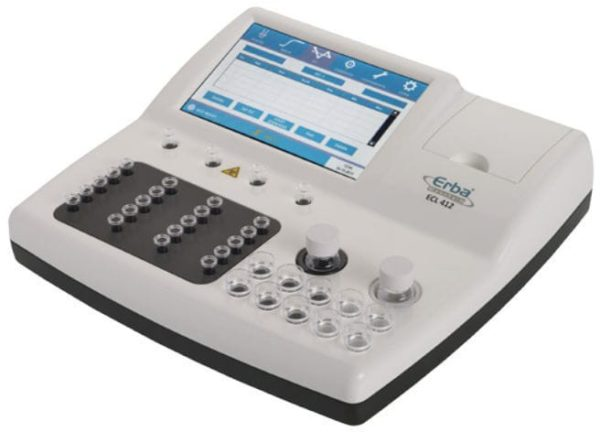 Полуавтоматический коагулометр ECL 412 Erba | Лабораторное оборудование | Анализаторы | Анализаторы гемостаза | Полуавтоматические анализаторы гемостаза