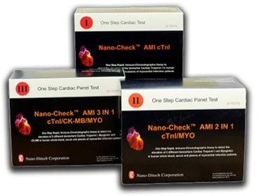 Тест-полоска Nano-CheckTM AMI tTnl (упаковка 20 шт.) | Лабораторное оборудование | Анализаторы | Экспресс-анализаторы