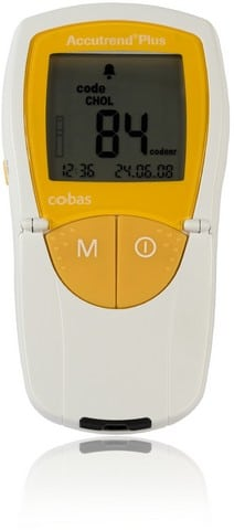 Анализатор биохимический Accutrend Plus (Аккутренд Плюс)   Лабораторное оборудование   Анализаторы   Приборы для измерения гемоглобина