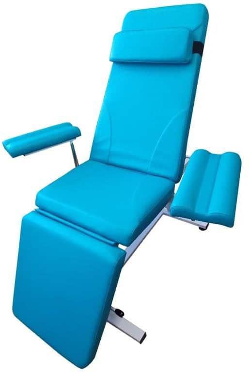 Кресло донорское для забора крови к-023дн   Мебель медицинская   Кресла пациента