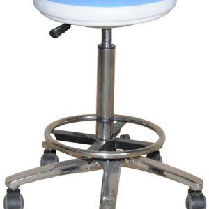 Табурет врача «Клер» высокий газовый патрон | Мебель медицинская | Стулья и кресла для врача и посетителей