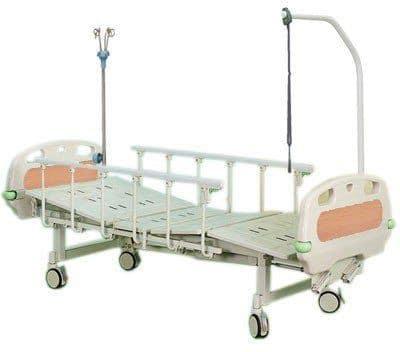 4-х секционная медицинская функциональная кровать DHC FE-3 | Мебель медицинская | Медицинские кровати