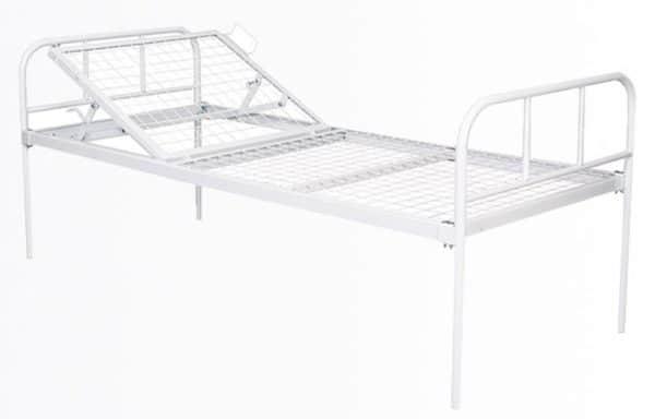 Медицинская кровать механическая HILFE КМ-01 | Мебель медицинская | Медицинские кровати