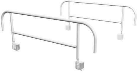 Ограждения боковые КМ 3 | Мебель медицинская | Медицинские кровати