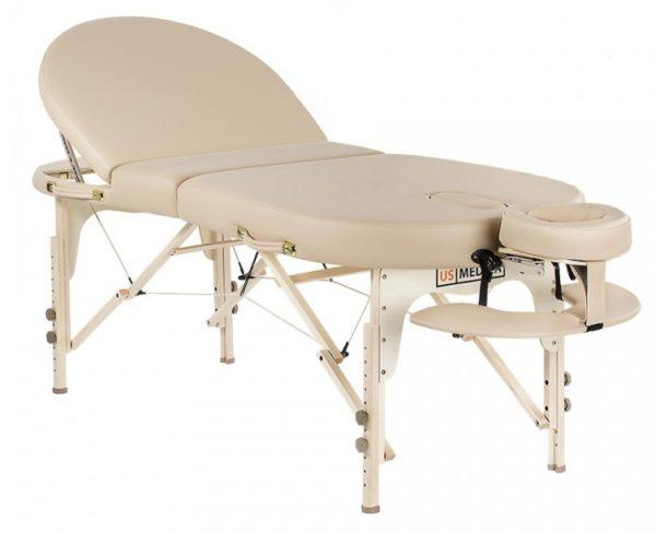 Складной массажный стол US Medica Malibu | Мебель медицинская | Столы медицинские | Массажные столы