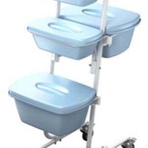 Тележка ТК-01-КРОНТ | Мебель медицинская | Столы медицинские | Столы