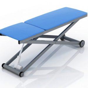 Кушетка электромеханическая ZERTS с 1 эл. приводом | Мебель медицинская | Кушетки и банкетки медицинские | Кушетки смотровые