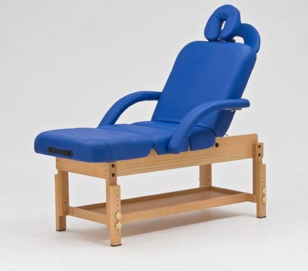 Стационарный массажный стол деревянный FIX-0A | Мебель медицинская | Кушетки и банкетки медицинские | Кушетки массажные | Стационарные кушетки