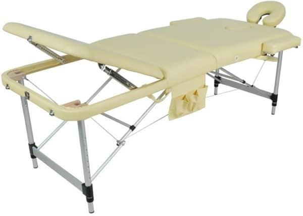 Массажный стол складной алюминиевый JFAL01A 2-х секционный | Мебель медицинская | Кушетки и банкетки медицинские | Кушетки массажные | Складные кушетки