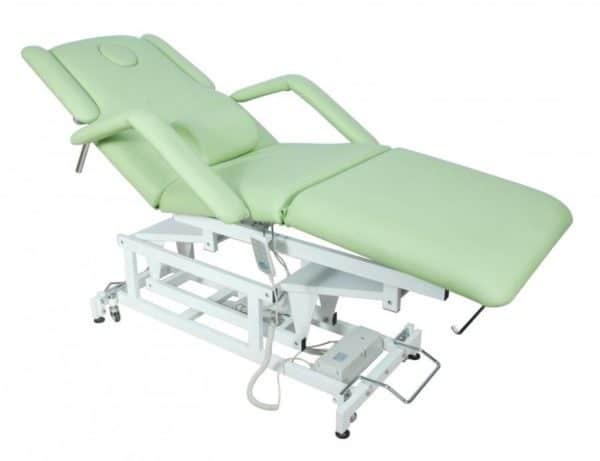 Медицинская кровать с электроприводом DB-9 (КО-7)   Мебель медицинская   Кушетки и банкетки медицинские   Кушетки массажные   Кушетки с электроприводом