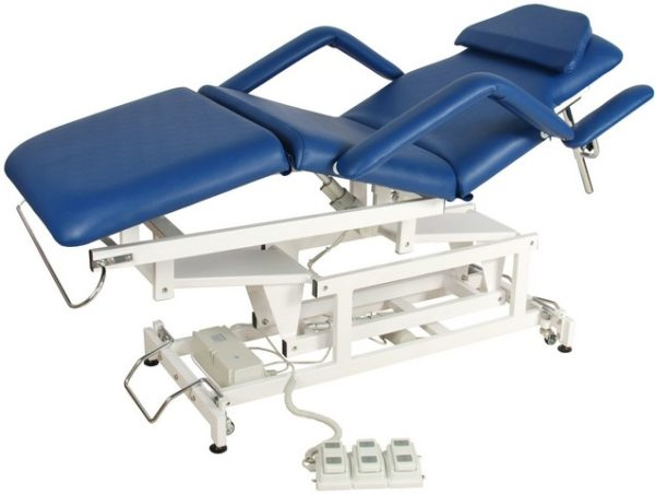 Медицинская кровать с электроприводом DB-9 (КО-071)   Мебель медицинская   Кушетки и банкетки медицинские   Кушетки массажные   Кушетки с электроприводом
