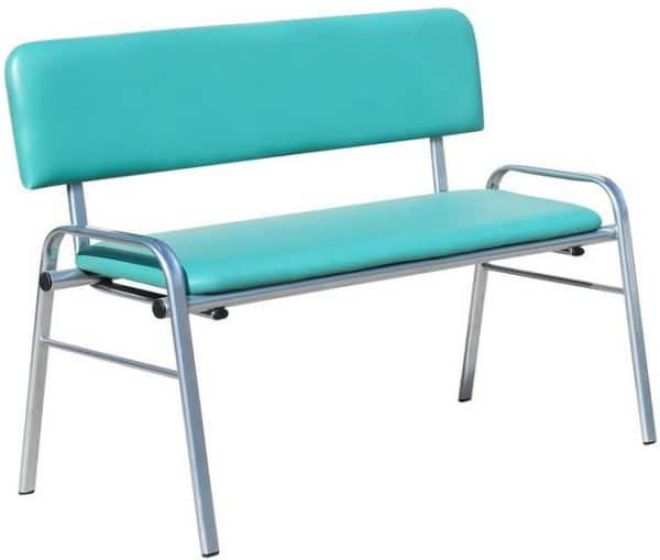 Банкетка со спинкой БС01  | Мебель медицинская | Кушетки и банкетки медицинские | Банкетки медицинские