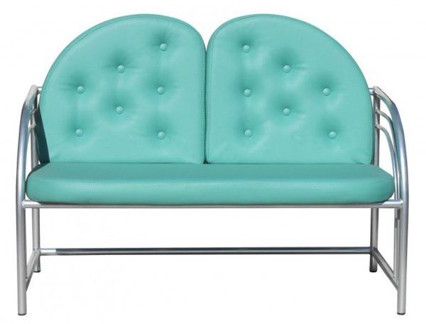 Диван Д04 1650*630*400  | Мебель медицинская | Кушетки и банкетки медицинские | Банкетки медицинские