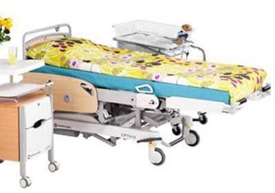 Родовая кровать Optima | Мебель медицинская | Неонатология и педиатрия | Столы для санобработки новорожденных