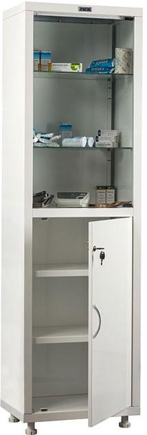 Шкаф HILFE МД 1 1650/SG | Мебель медицинская | Шкафы для всех отраслей | Шкафы медицинские металлические