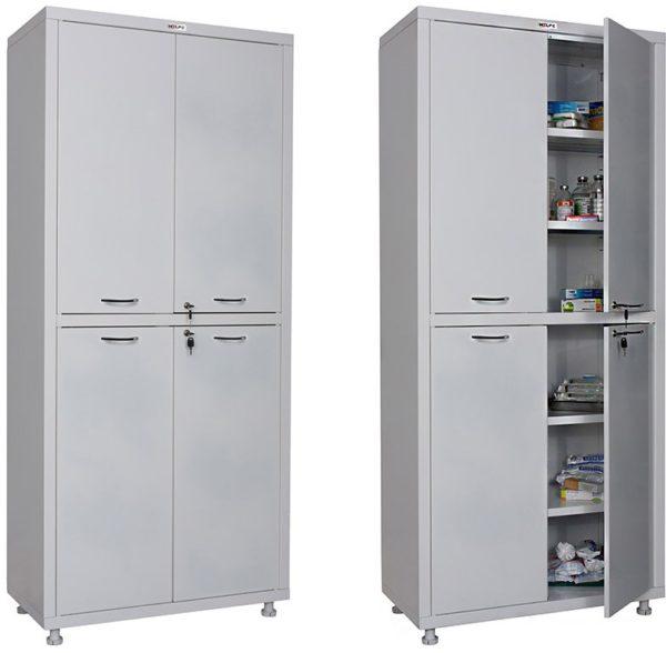 Шкаф HILFE МД 2 1780/SS   Мебель медицинская   Шкафы для всех отраслей   Шкафы медицинские металлические