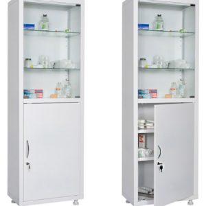 Шкаф HILFE МД 1 1760/SG | Мебель медицинская | Шкафы для всех отраслей | Шкафы медицинские металлические