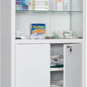 Шкаф HILFE МД 2 1670/SG | Мебель медицинская | Шкафы для всех отраслей | Шкафы медицинские металлические