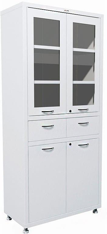 Шкаф HILFE МД 2 1780 R-1 | Мебель медицинская | Шкафы для всех отраслей | Шкафы медицинские металлические