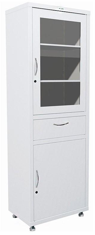 Шкаф HILFE МД 1 1760 R-1 | Мебель медицинская | Шкафы для всех отраслей | Шкафы медицинские металлические