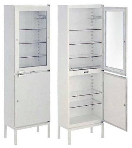 Шкаф для медикаментов 1515 Merivaara | Мебель медицинская | Шкафы для всех отраслей | Шкафы медицинские металлические
