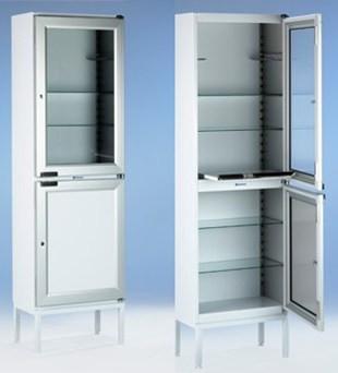 Шкаф для медицинских инструментов 510 Merivaara | Мебель медицинская | Шкафы для всех отраслей | Шкафы медицинские металлические