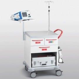 Тележка скорой помощи VARIMED 860 х 645 х 605 мм | Мебель медицинская | Тележки медицинские