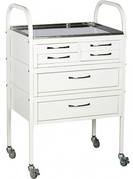 Стол манипуляционный ПРАКТИК MD SM 6 | Мебель медицинская | Столики инструментальные
