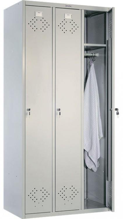 Шкаф для раздевалок ПРАКТИК МД LS(LE) - 31 | Мебель медицинская | Шкафы для всех отраслей | Шкафы для одежды