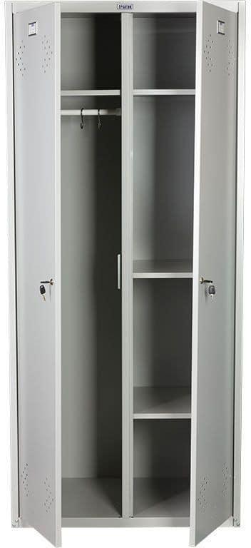 Шкаф для раздевалок ПРАКТИК МД LS(LE) 21-80 U | Мебель медицинская | Шкафы для всех отраслей | Шкафы для одежды
