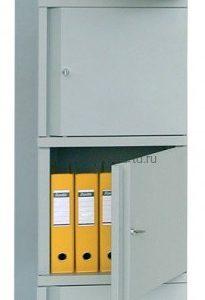 Шкаф для документов ПРАКТИК МД АМ-1845/4 | Мебель медицинская | Шкафы для всех отраслей | Шкафы для документов