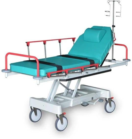 Тележка медицинская для перевозки больных ТБП-01 Медин | Мебель медицинская | Тележки для перевозки больных