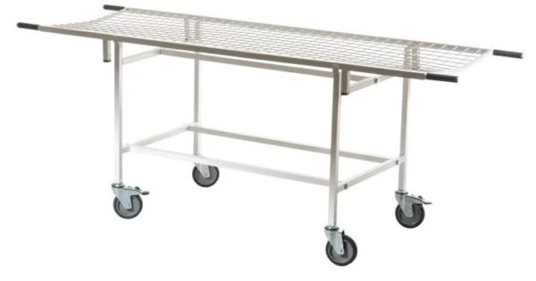 Медицинская тележка для перевозки больных ТБсп-02 МСК-401 | Мебель медицинская | Тележки для перевозки больных