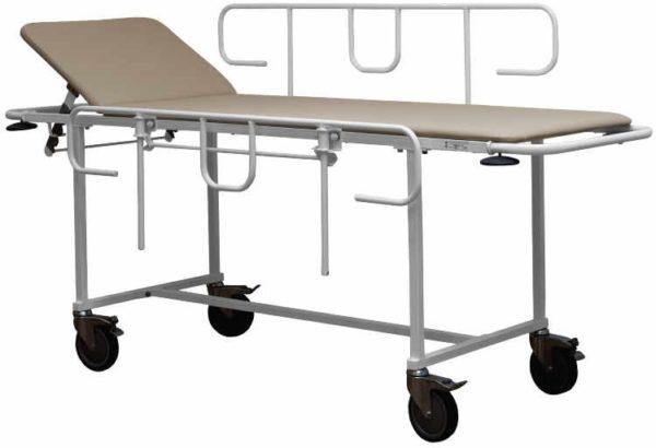 Тележка для перевозки больных внутрикорпусная ТПБВ-01 Д | Мебель медицинская | Тележки для перевозки больных