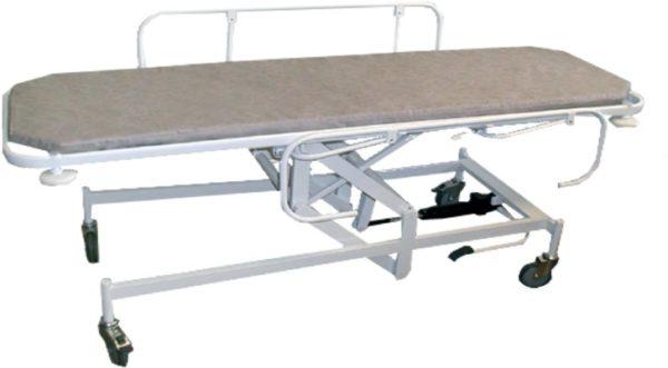 Медицинская тележка для перевозки больных ТПБв-01 МСК-404   Мебель медицинская   Тележки для перевозки больных